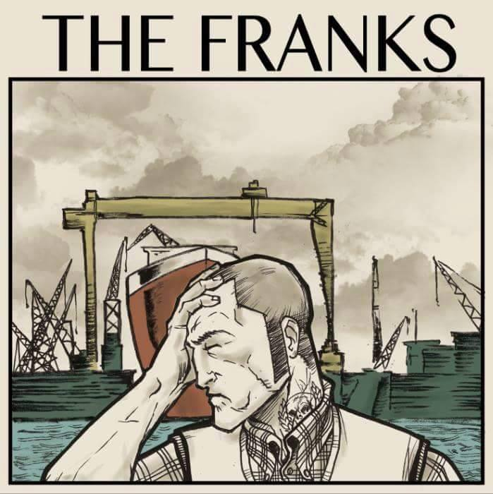 "The Franks 7""EP (fialový)"