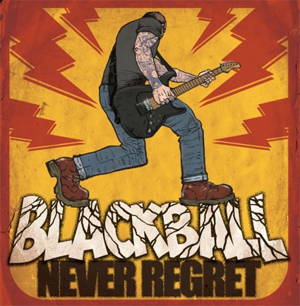 Black Ball - Never regret LP (Orange)