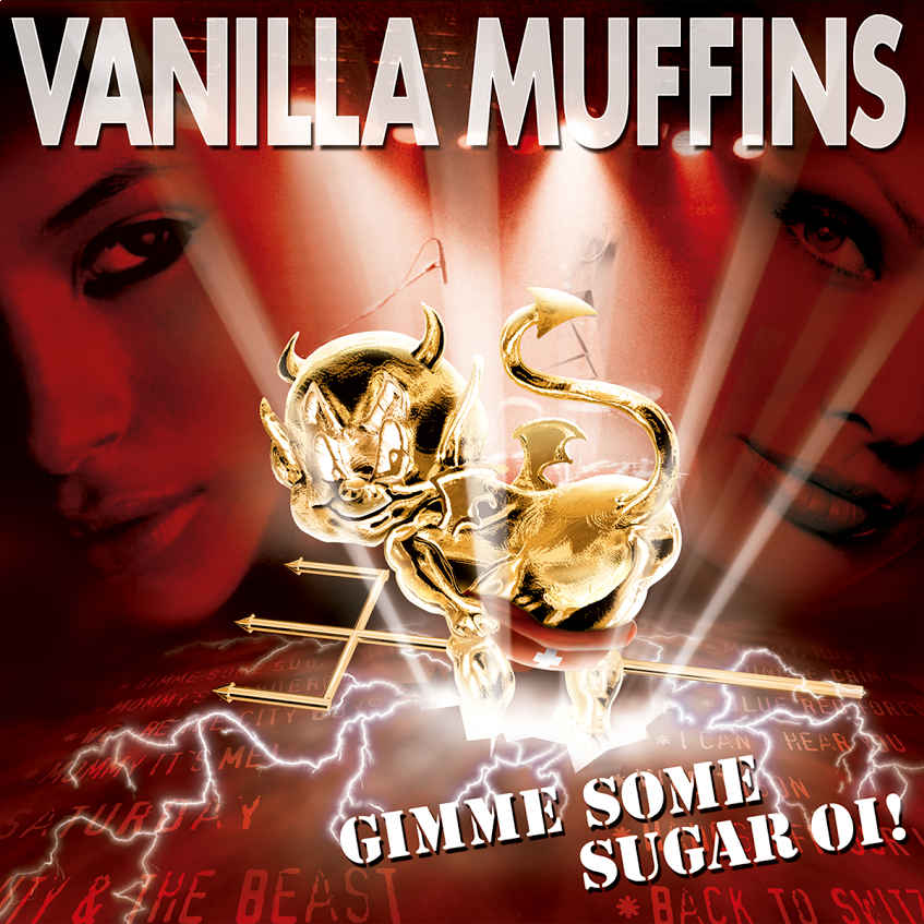Vanilla Muffins - Gimme some sugar Oi! Digipack CD