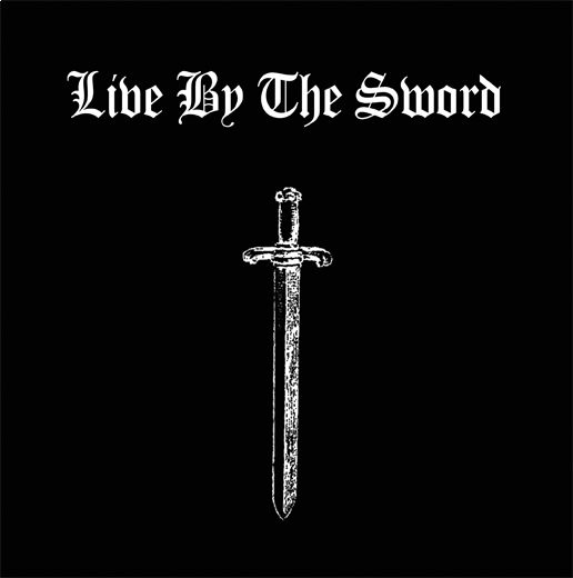 "Live By The Sword - L.B.T.S. / Soldiers 7"" (Black)"