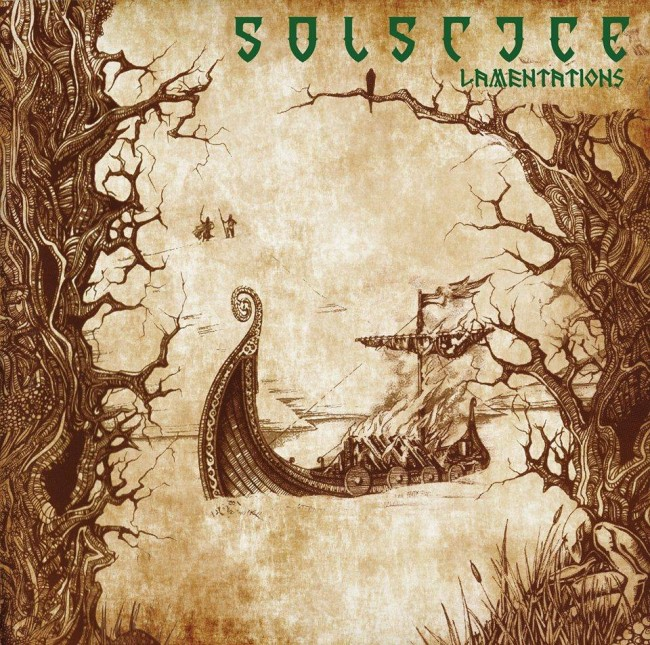 "Solstice - Lamentations 12""LP (Bronze)"