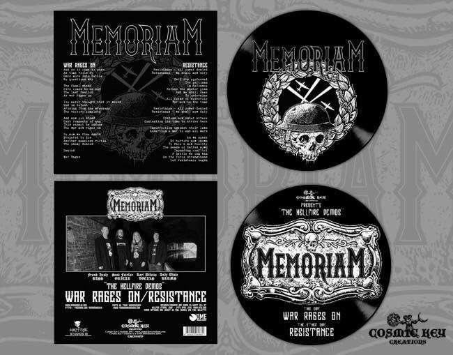 "Memoriam - The hellfire demo's 7"" Picture Disc"