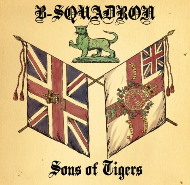 "B Squadron - Sons of Tigers 12""LP (Beer)"