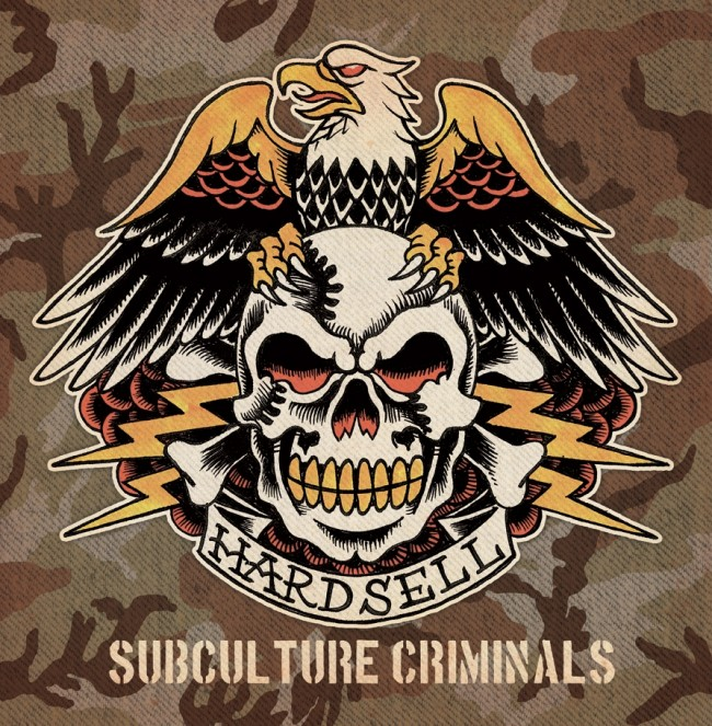 "Hardsell - Subculture criminals 12""LP (SWAMP GREEN)"