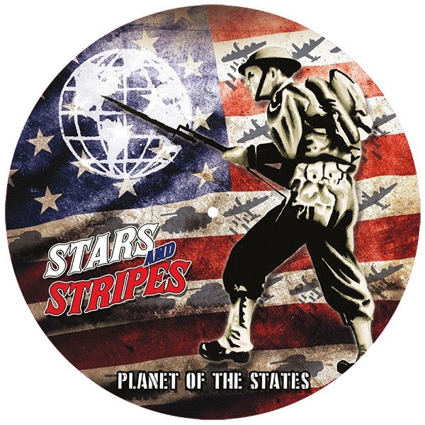 "Stars And Stripes ‎– Planet Of The States Picture 12""LP"