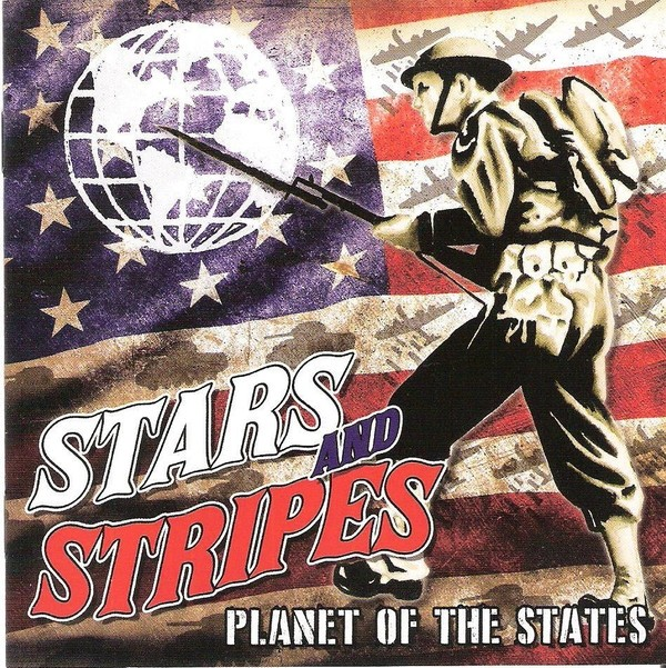 Stars And Stripes ‎– Planet Of The States CD
