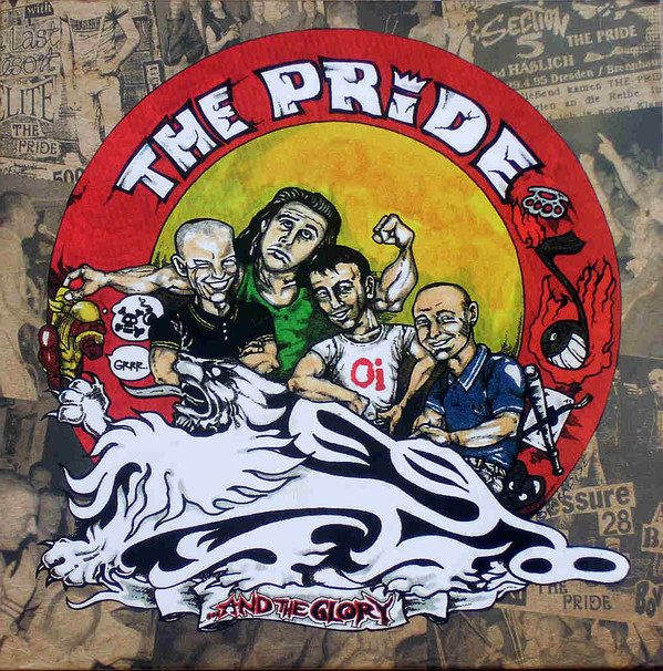 "The Pride ‎? ...And The Glory 12""LP (?erný/black)"