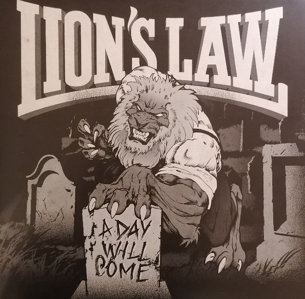 "Lion's Law ‎? A Day Will Come 12""LP"