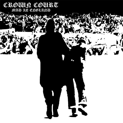"Crown Court - Mad In England 7"" EP (?erný/black)"