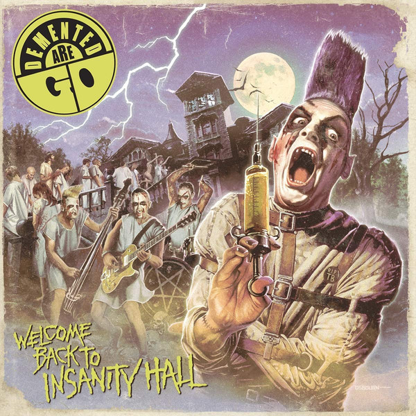 "Demented Are Go - Welcome back to insanity hall 12""LP"