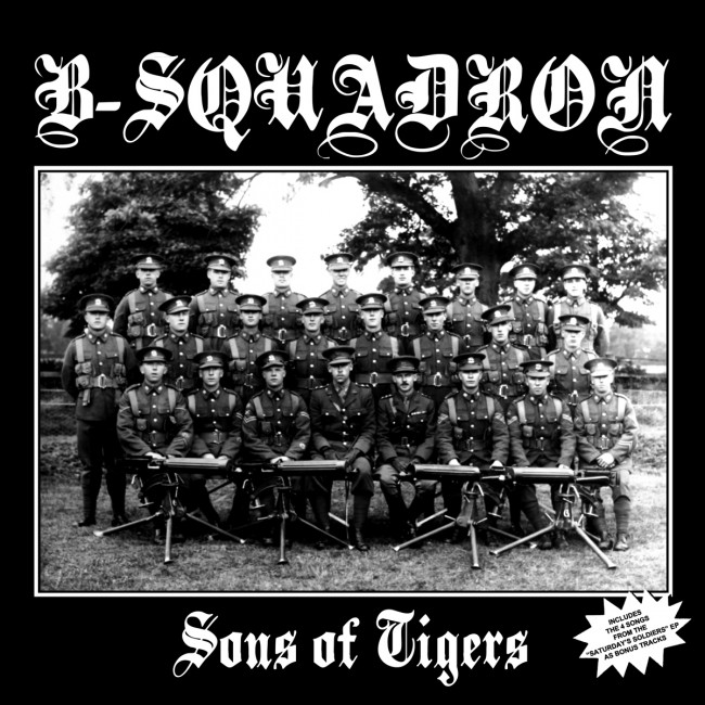 B Squadron - Sons of tigers + Bonus LP (2019RP, ultra-clear)