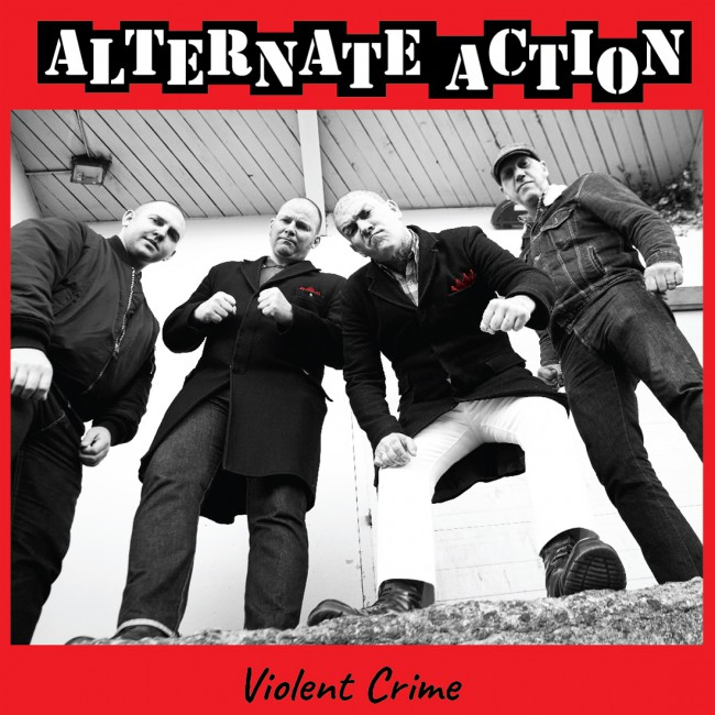 "Alternate Action - Violent crime 12""LP (st?íbrný/silver)"