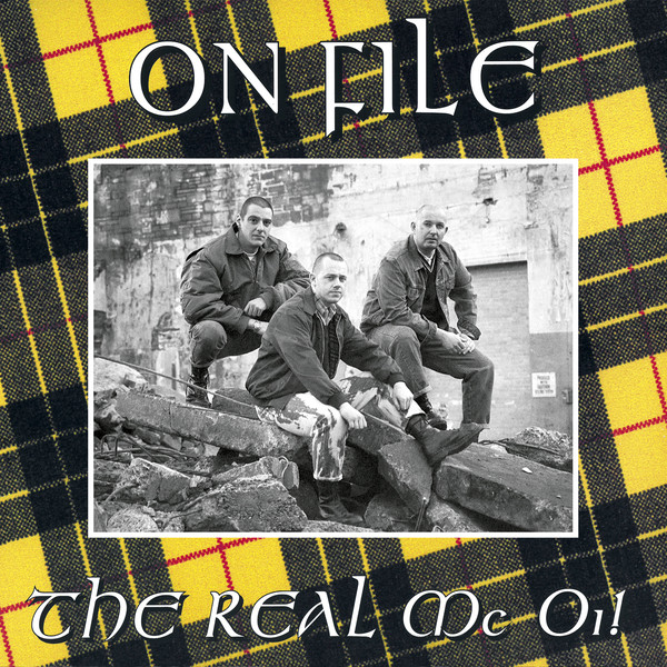 "On File - The Real Mc Oi! 12""LP"