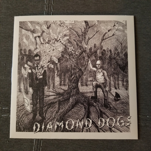 "Diamond Dogs - s/t 7"" EP (Black)"