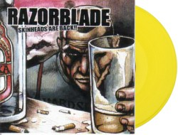 "Razorblade – Skinheads Are Back 12""LP (Yellow)"
