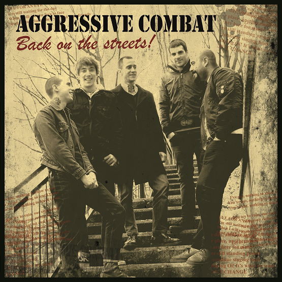 Aggressive Combat ‎– Back On The Streets! LP (černý/black)