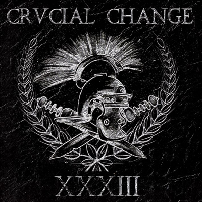 Crucial Change - 33 LP (Blue Red White Splattered)