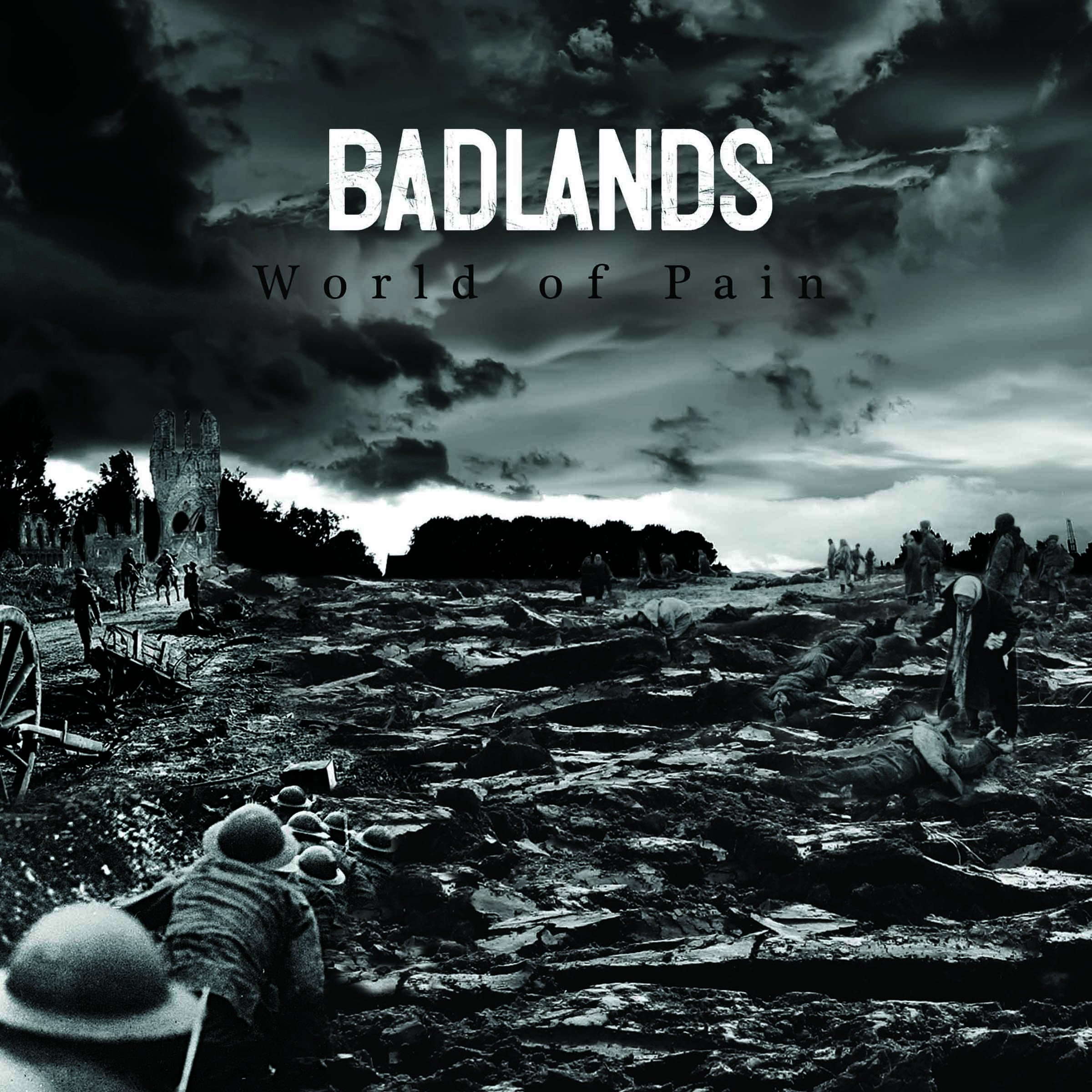 "Badlands - World of pain 7"" (bílý/white)"