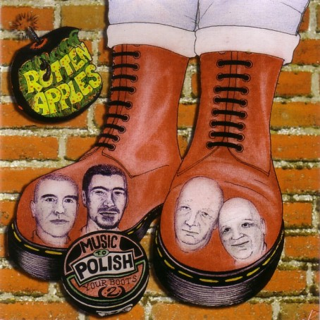 Rotten Apples - Music to polish your boots to CD Digipack