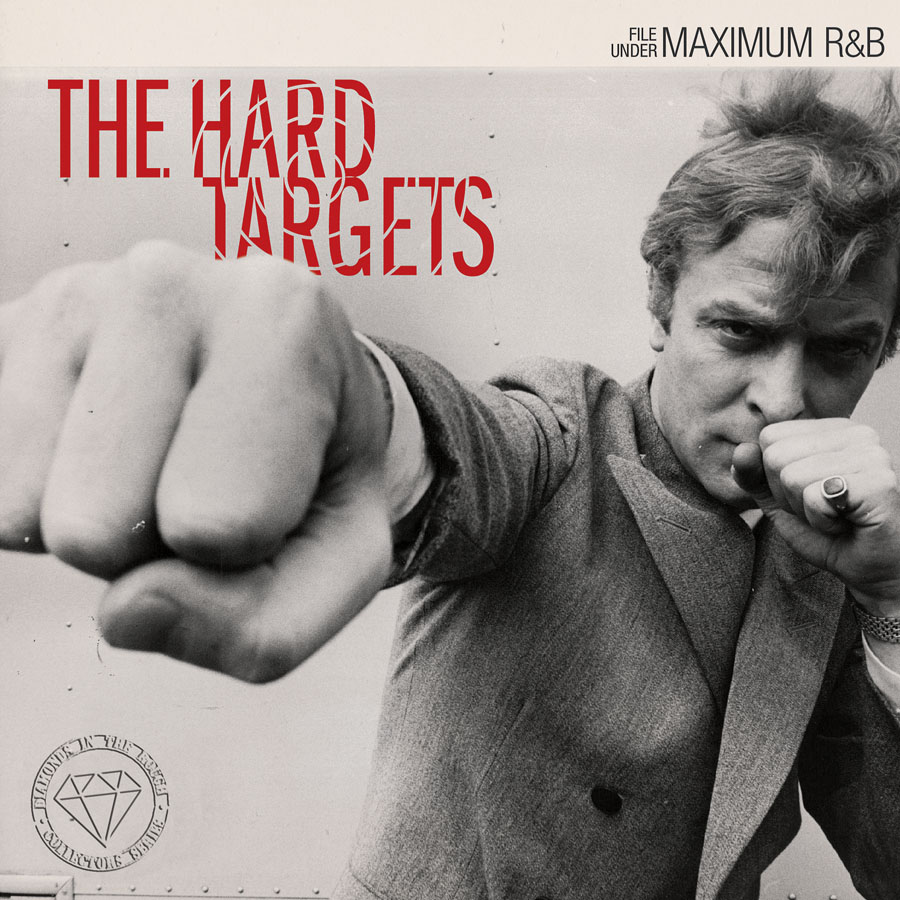 "Hard Targets The - File Under Maximum R&B 7"" EP(šedo-červený)"