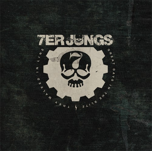"7er Jungs - Great Days In The Blitz 7"" (černý/black)"