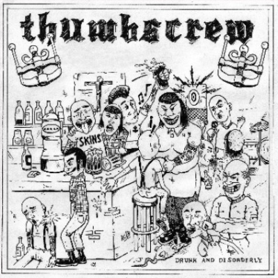 "Thumbscrew - Drunk & Disorderly 7"" (červený/red)"