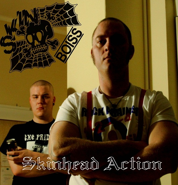 Skinboiss - Skinhead Action LP (černý/black)