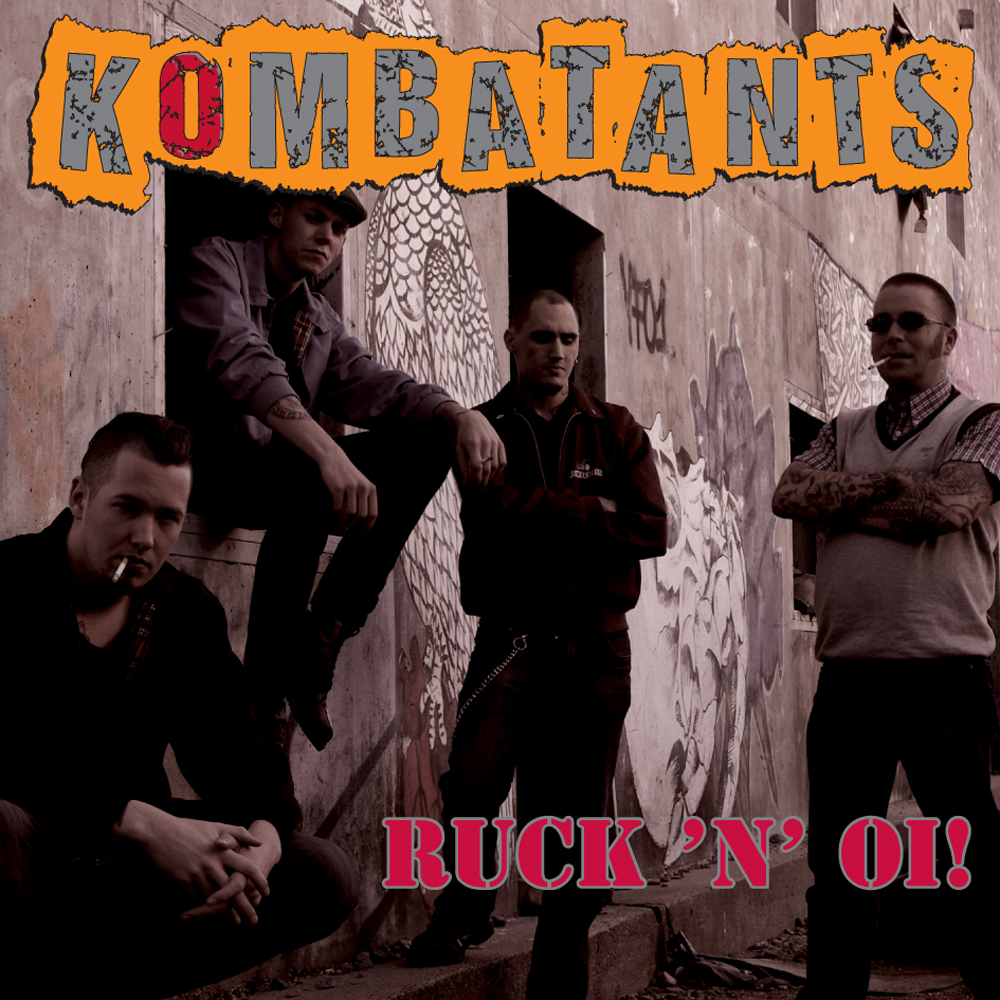 Kombatants - Ruck´n´Oi! Digipack CD
