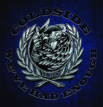 Coldside - We've Had Enough LP (blue/white swirl)