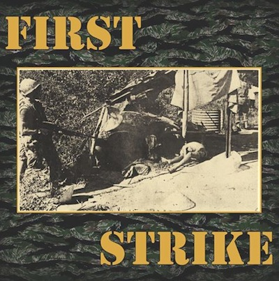 "First Strike ‎– First Strike EP 12"" (zelený/green)"