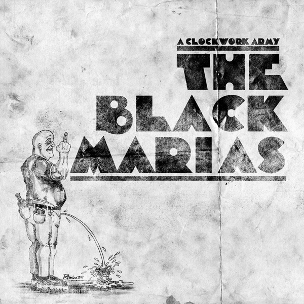 Black Marias The ? A Clockwork Army LP (?erný/black)