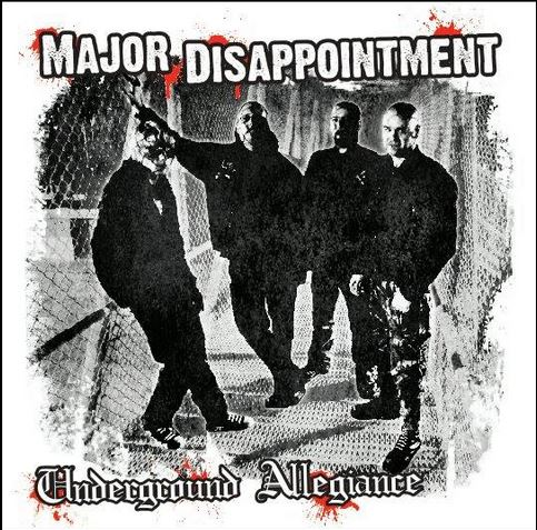 Major Disappontment - Underground Allegiance LP (bílý/white)