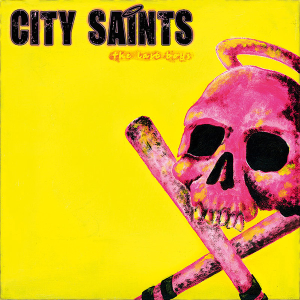 "City Saints - The last boys 7"" EP (?ervený/red)"