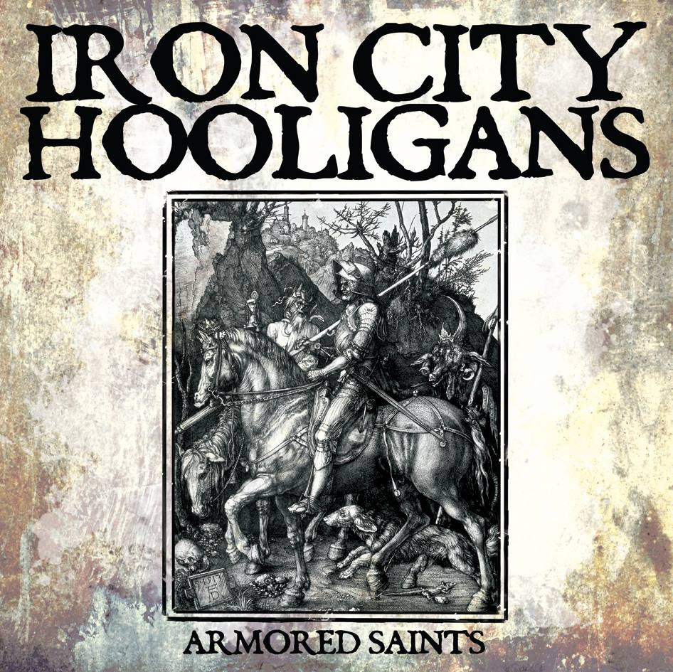 "Iron City Hooligans - Armored Saints 12"" Maxi EP (černý/black)"
