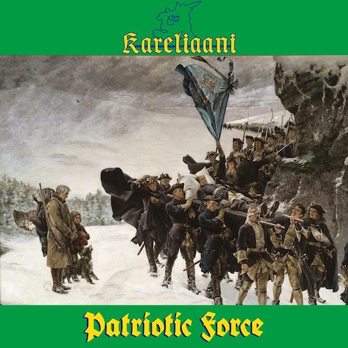 "Kareliaani ‎– Patriotic Force 12"" LP (Yellow Green Splatte"