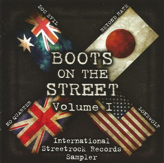 V/A - Boots On The Street Volume I LP (černý/black)