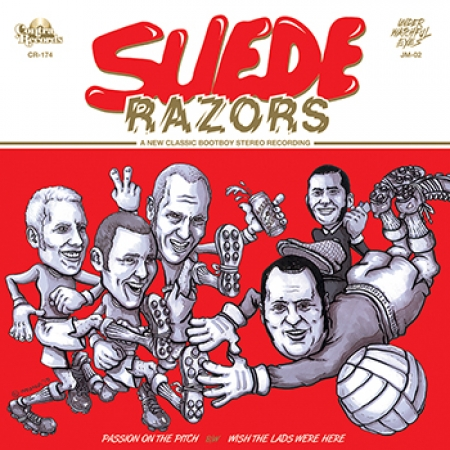"Suede Razors – Passion On The Pitch 7""EP (Repress - Red)"