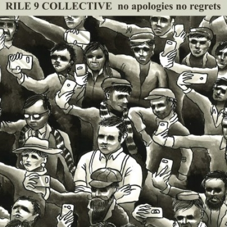"Rile 9 Collective - No apologies no regrets 7""EP (Red)"