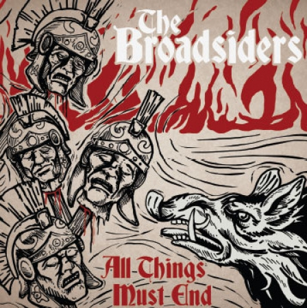 The Broadsiders ‎- All Things Must End LP Gat.(clear/gold