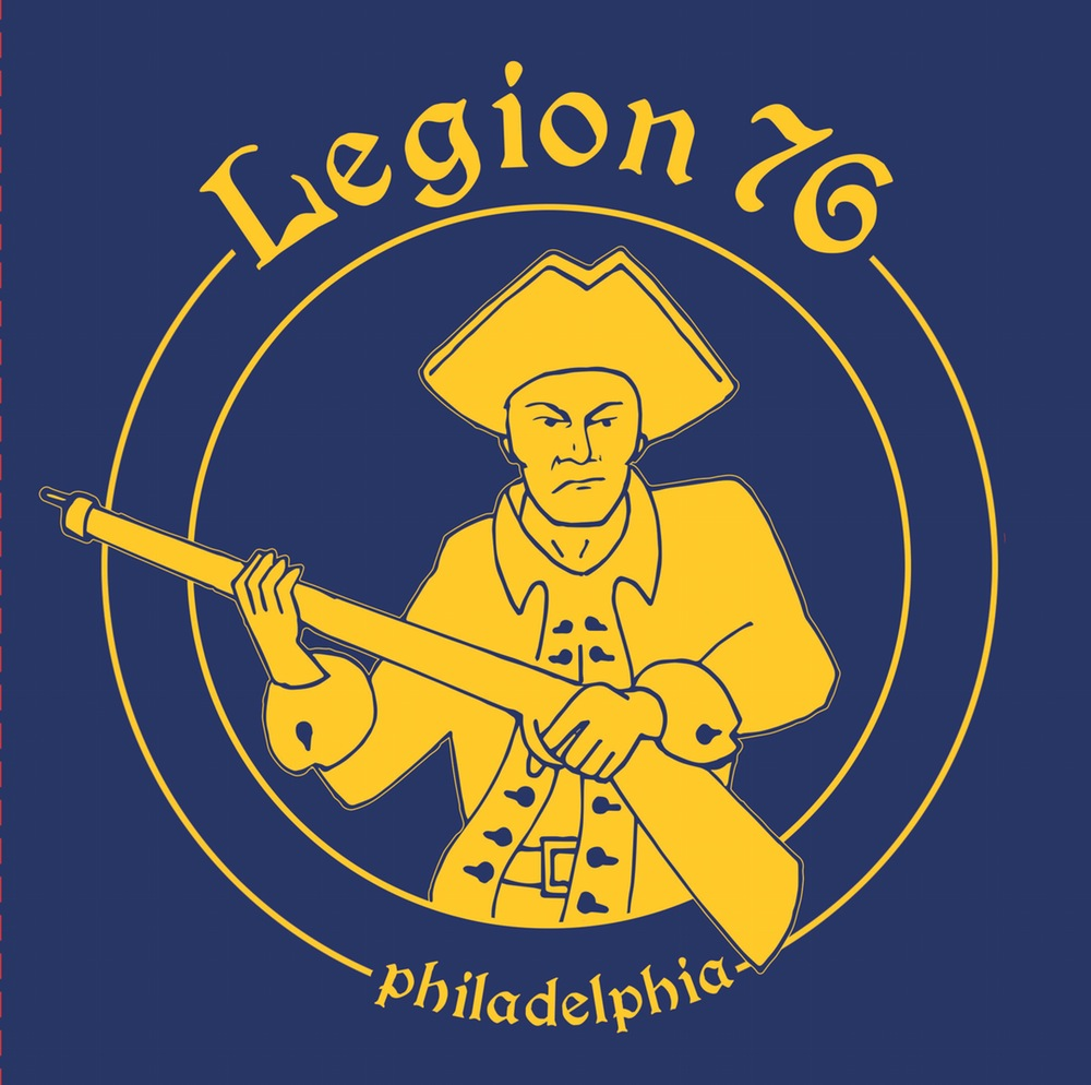 "Legion 76 - s/t 7"" EP (Repress)(Piss yellow vinyl)"