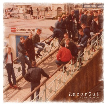 Razorcut - Rise again CD