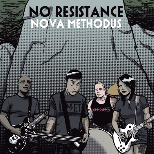 "No Resistance - Nova Methodus 10"" (black)"