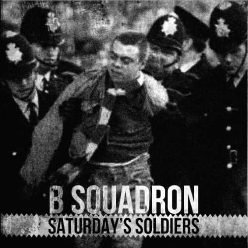 "B Squadron - Saturday's Soldiers 7"" EP (silver)"
