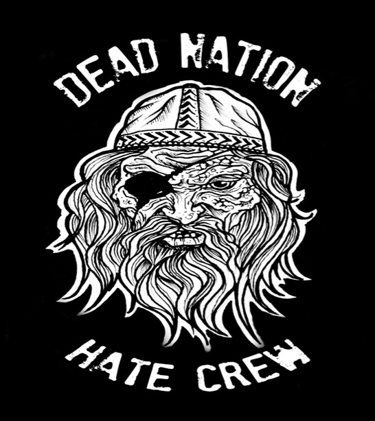 "Dead Nation ? Hate Crew 7""EP (?erný)"