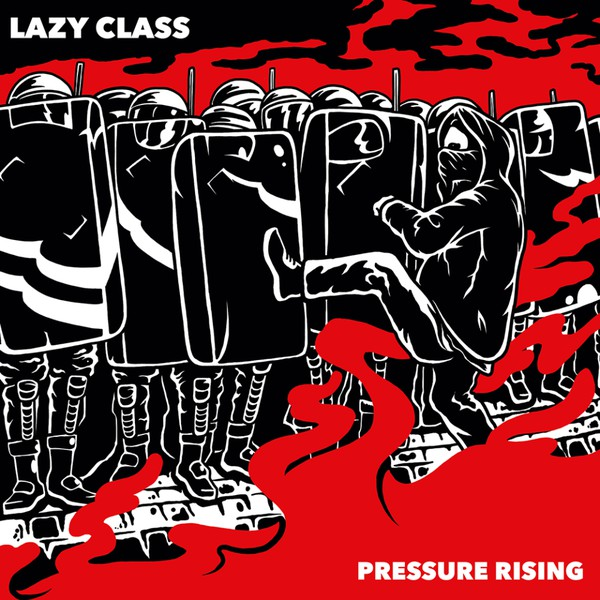 "Lazy Class ‎– Pressure Rising 7""EP (white)"