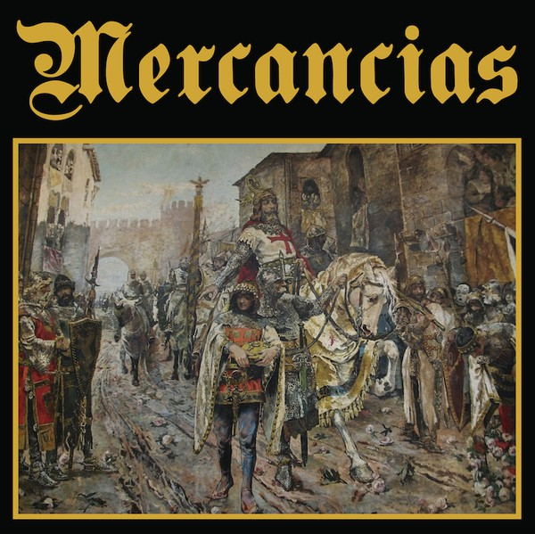 "Mercancias ‎– Mercancias 12""LP (èerný)"