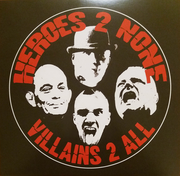 Heroes 2 None ‎- Villains 2 All 10""