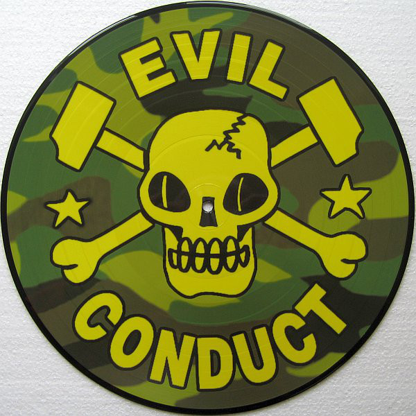 "Evil Conduct - Sorry... No! 12""LP (Picture Disc)"