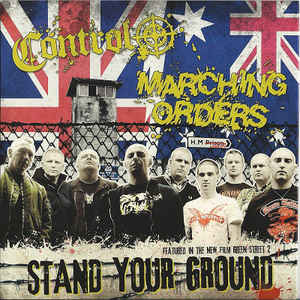 Control/Marching Orders-Stand Your Ground EP(Tri-Colour)(M/M)
