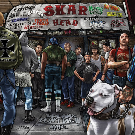 Skarhead ‎– Dreams Don't Die!!! CD